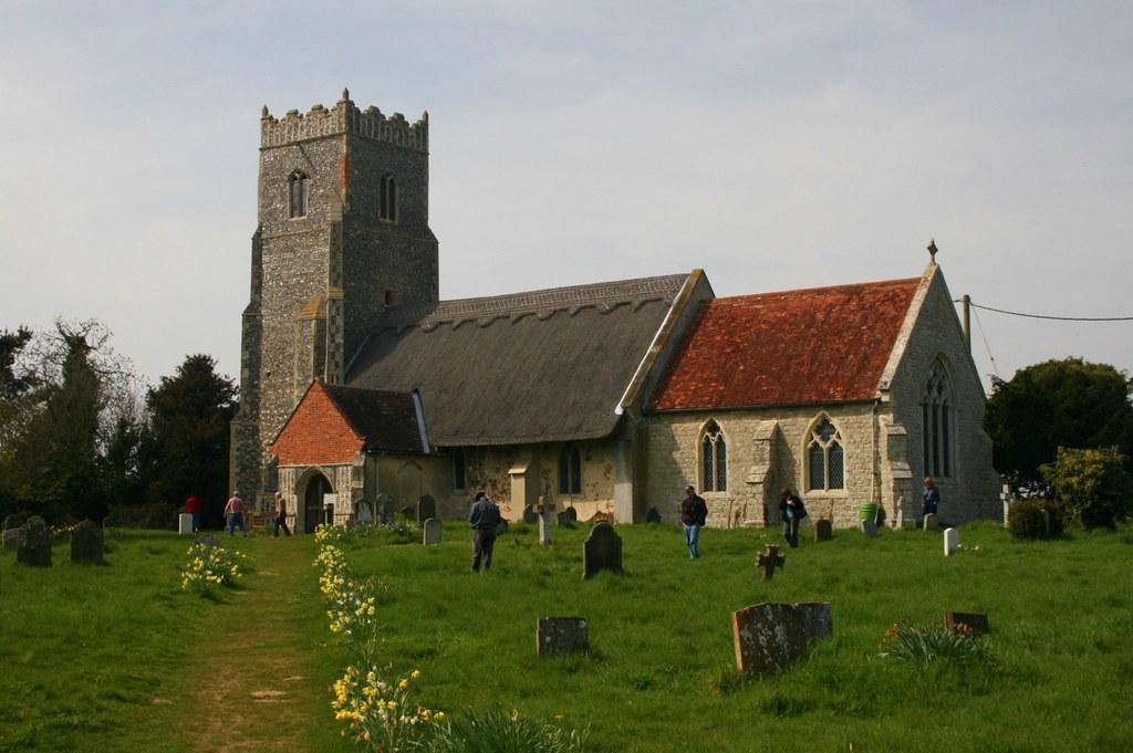 St Botolph, Iken, Suffolk.