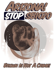 STOP SB1070 (EnikOne) Tags: arizona boycott sb1070 altoarizona