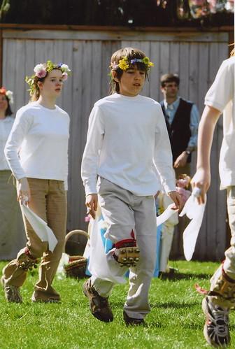 Morris Dancing May Day 2009