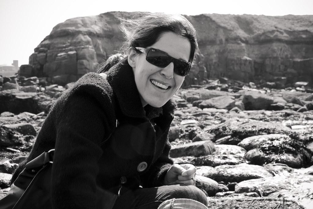 Emma on the beach