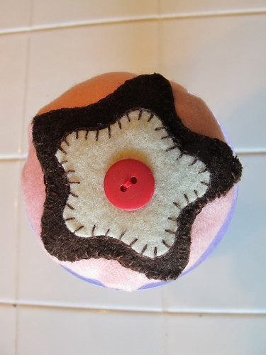 Top of the sundae pin cushion