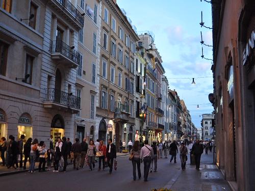 VIa Veneto in Rome