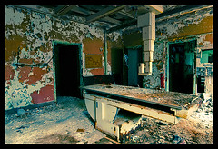 Pilgrim Psychiatric Center-5 (Sebastian T.) Tags: abandoned hospital ruins closed peeling paint urbandecay medical forgotten urbanexploration xray peelingpaint asylum derelict deserted abandonment decayed dilapidated psychiatric psych abandonedbuildings modernruins xraymachine