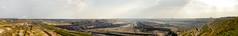 Tagebau Garzweiler 180° panorama 22Mpx (Lennert van den Boom) Tags: d50 germany nikon mine nordrheinwestfalen tagebau excavator bagger bwe garzweiler northrhinewestphalia rwe openpitmine lignite schaufelradbagger bucketwheelexcavator dagbouw