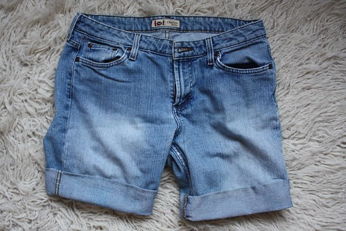 Step 18: Done Cuffed Denim Shorts