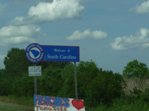 welcome to south carolina.