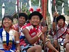 Rengma tribe watching the show (Linda DV (back again)) Tags: people india festival canon geotagged video performance culture clothes warrior tribe ethnic minority 2008 sevensisters tribo stam kohima nagaland ethnology tribu stamm 部落 trib tribù kisama 7sisters heimo northeastindia stamme hornbillfestival pokolenia powershots5is minorité قبيلة minderheid 부족 lindadevolder племе plemena pokolení जनजाति 部族 триба
