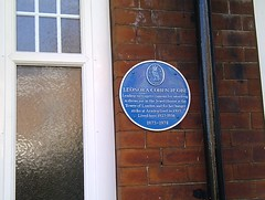Photo of Leonora Cohen blue plaque