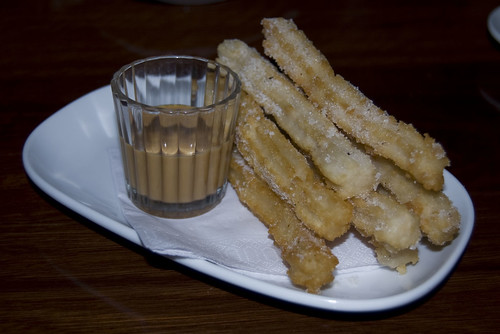 bar lourinha Churros and dulce de leche