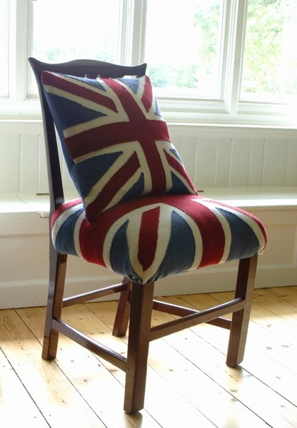 melanie porter union jack chair cover pillow