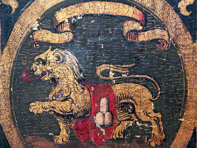 Lion- Court of arms of Pope SixtusV's family, Italy, Rome, 1585-90