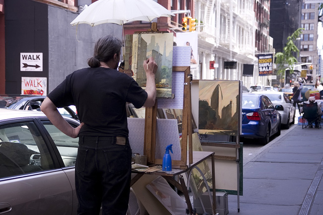 Painter in SoHo