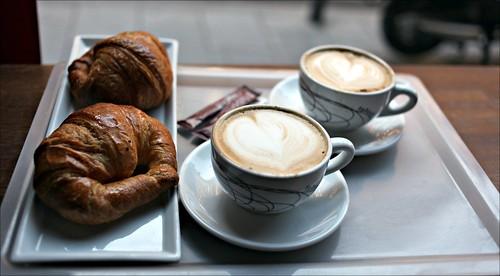Desayunando en Madrid