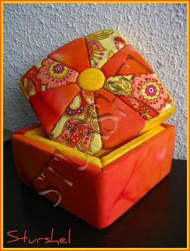 Caja forrada Ginka