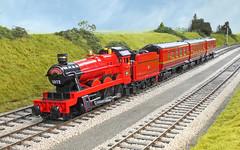 Hogwarts Express (bricktrix) Tags: train lego harrypotter hogwartsexpress legotrains oltonhall legoharrypotter