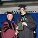 President Colley awards Joshua Kurtz with 2010 Fidelity Award