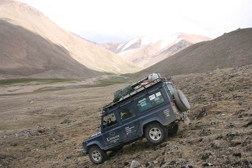 Mongolian mountain offroading