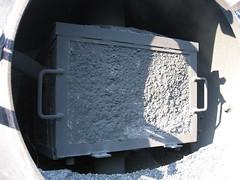 Blocked Spark Arrestor (Tanllan) Tags: light wales train fun railway pit steam ash spark gauge 19 narrow preservation llanfair welshpool resita arrestor wllr