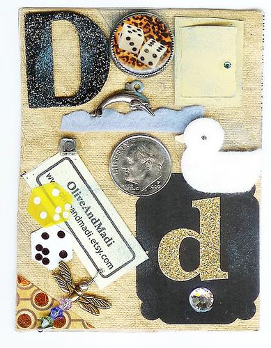 ATC Alphabet Series Letter D