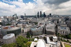 City of London Skyline (cybertect) Tags: building london skyline architecture construction cityscape stpaulscathedral canonef1740mmf4lusm cityoflondon cheapside ec4 jeannouvel newchange canoneos5d londonec4 canon1740f4lusmgroup onenewchange