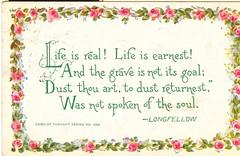 Poetry postcard, 1913