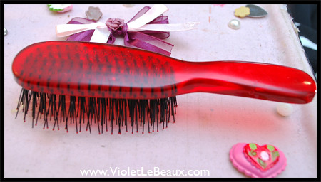 Hair Brush Deco