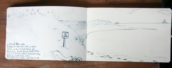 South Cape Beach Sketch