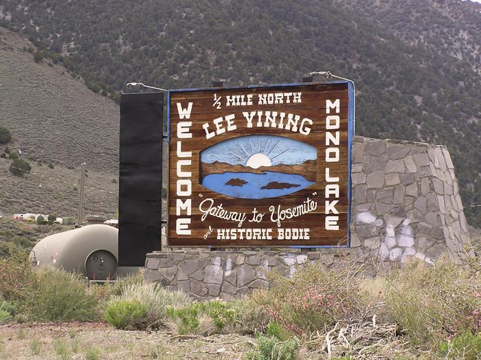 Lee Vining, CA.