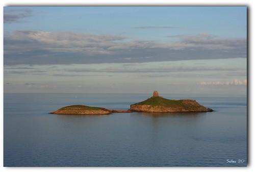 Une île au soleil