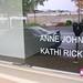 Kathi Rick & Anne John's Window at the Koplan Building