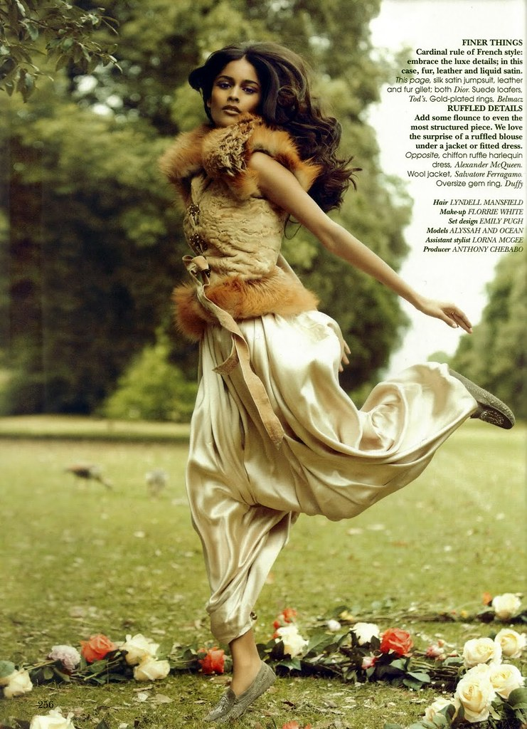 Alyssah Ali - Vogue India October 2010 - 2