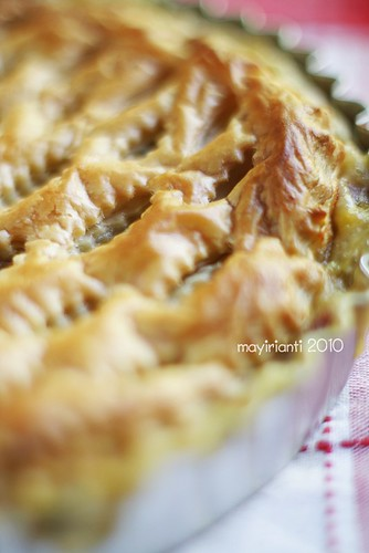 Beef & Corn Lattice Pastry