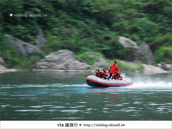 【花蓮旅遊】暑假玩花蓮最消暑的玩法~秀姑巒溪泛舟啦!32
