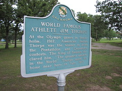 World Famous Athlete Jim Thorpe