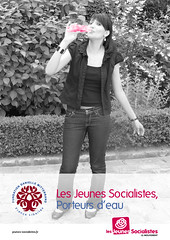 Les Jeunes Socialistes, porteurs d'eau