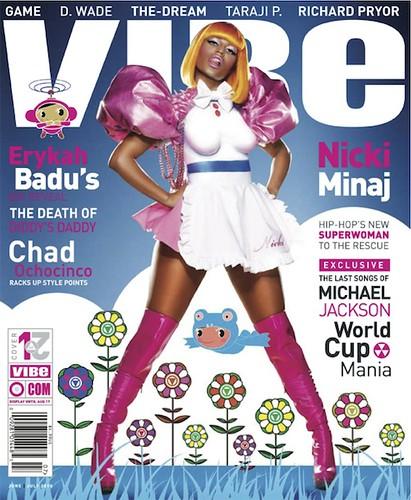 Nicki Minaj VIBE June/July cover