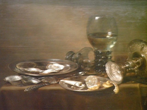 Still Life with Oysters, a Silver Tazza and Glassware