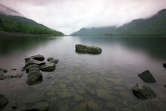 Thirlmere #1 (Dave Brightwell) Tags: bridge trees sunset mountains water beautiful sunrise reflections landscape waterfall scenery rocks stream sony lakes lakedistrict scenic sigma hills derwentwater 1020mm buttermere helvellyn thirlmere ashness a550