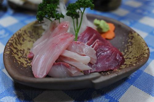 地魚の刺身
