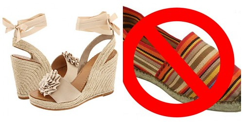 Espadrille WhoreStory Collage