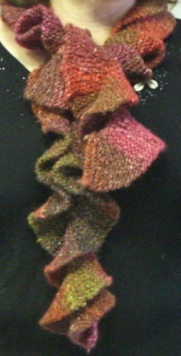 Twisty Knitted Scarf