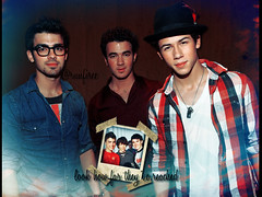 This 3 guys made my world !  (runfiree ISKJ) Tags: 2005 friends lines for haiti vines kevin time little brothers nick joe it trying send change times jonas bit 2009 longer 2010 abut
