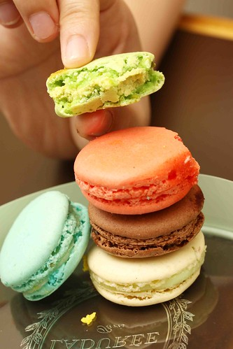 A closer look at Laduree's macarons