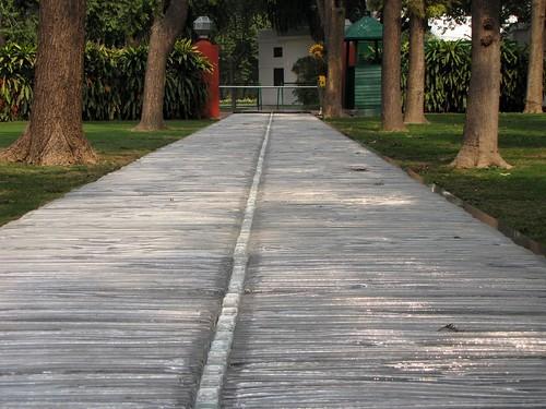 Indira Gandhi Crystal Path