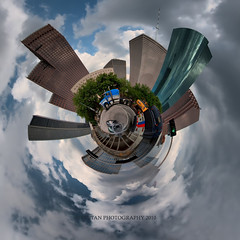 H-CITY DOWNTOWN PLANET (RUSSIANTEXAN ) Tags: sky reflection glass clouds interestingness nikon downtown texas skyscrapers steel tx houston explore frontpage hdr russiantexan singleraw anvar smallplanet d700 dynamicphotohdr khodzhaev anvarkhodzhaev ru