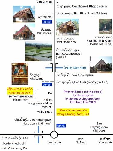 Muang Ngeun map