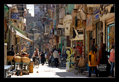 Luxor Street (Dan & Luiza from TravelPlusStyle.com) Tags: street travel egypt hijab luxor