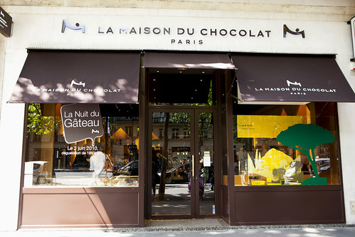 La Maison du Chocolat boutique on Boulevard de la Madeline
