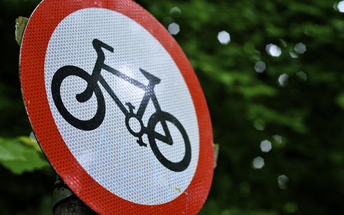 That No Cycling Sign Again