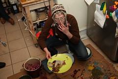 313 (pgargagl) Tags: party food art philadelphia foodart potluck jacksonpollock injeera jacksonpotluck